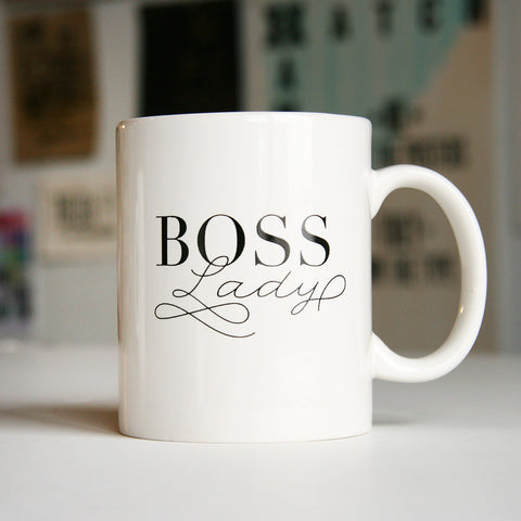 Boss Lady Mug - Steel Petal Press