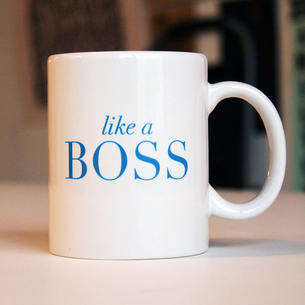Boss Mug | Steel Petal Press