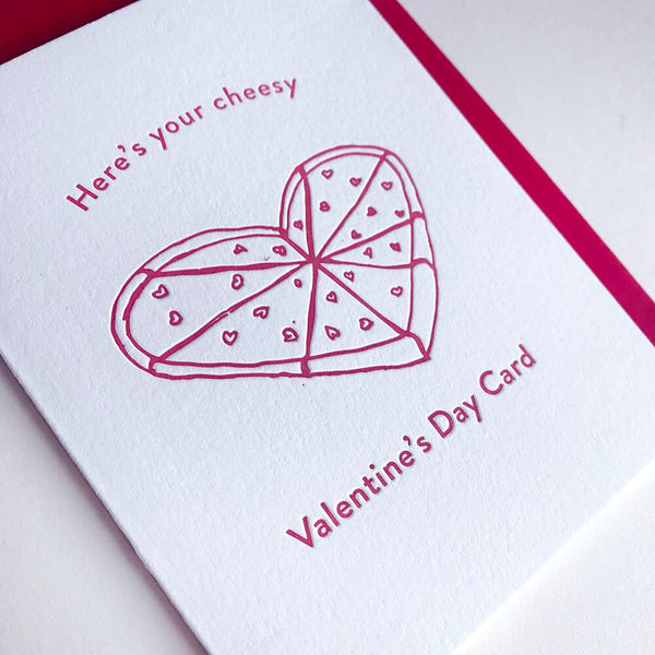 Cheesy Valentines Day | Steel Petal Press