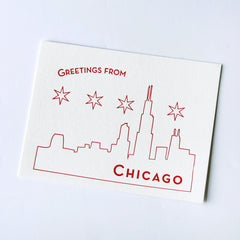 Chicago postcard - boxed set of 10