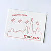 Letterpress postcard - Chicago