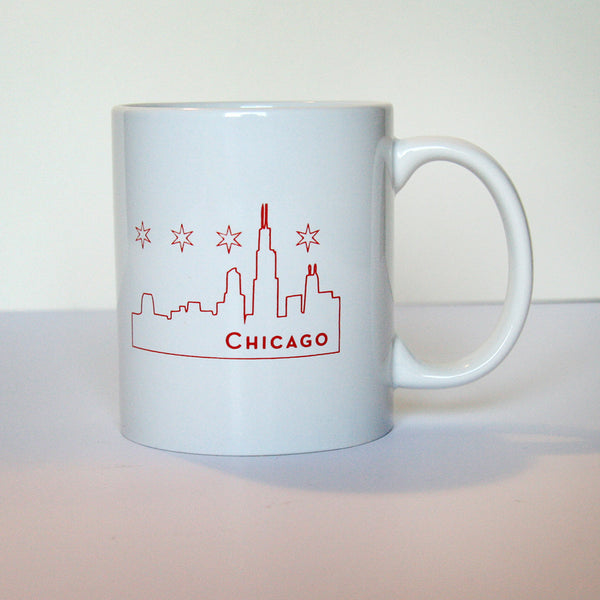 Chicago Mug | Steel Petal Press