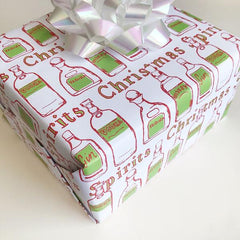 Christmas Spirits Wrap