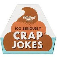 100 Seriously Crap Joke Cards - Steel Petal Press