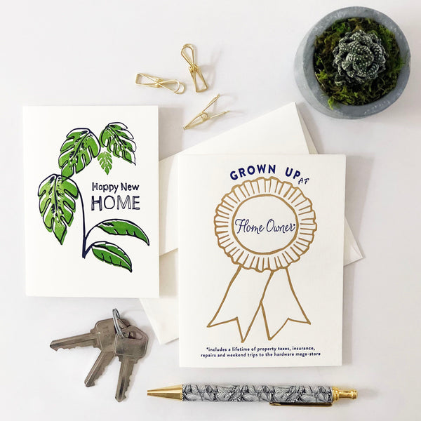 Award Ribbon Home Owner - Steel Petal Press