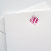 Monogram Letterpress Stationery