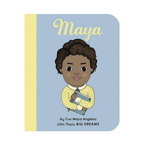 Maya Angelou - Kids Hardcover Book - Steel Petal Press