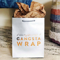 Gangsta Wrap Bag