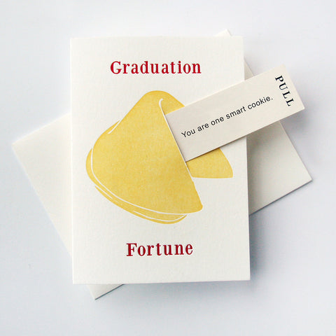 Fortune Graduation Smart Cookie - Steel Petal Press