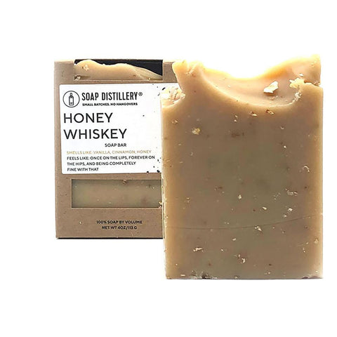 Honey Whiskey Soap Bar - Steel Petal Press