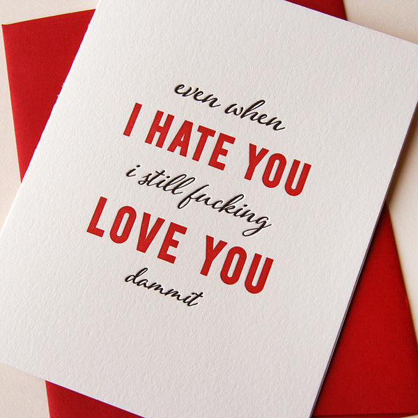 Hate You, Love You | Steel Petal Press