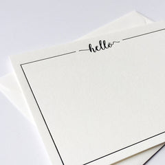 Black Border Hello Boxed set