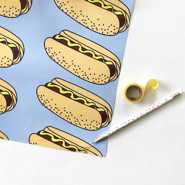 Hot Dog Wrap - Steel Petal Press