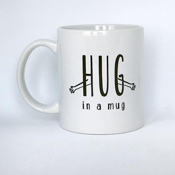 Hug In A Mug | Steel Petal Press