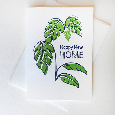 Happy New Home - Illustrated - Steel Petal Press