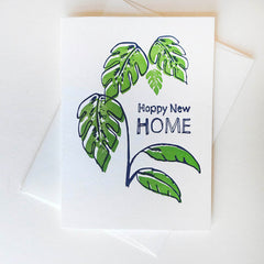 Happy New Home - Illustrated