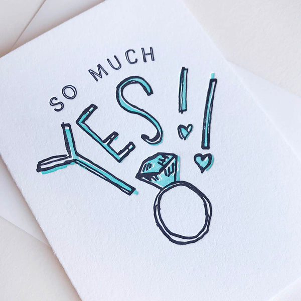 So Much Yes! - Illustrated | Steel Petal Press