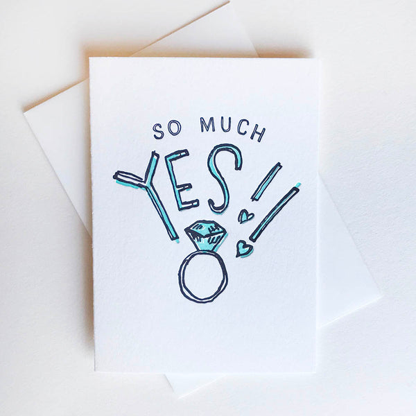 So Much Yes! - Illustrated - Steel Petal Press