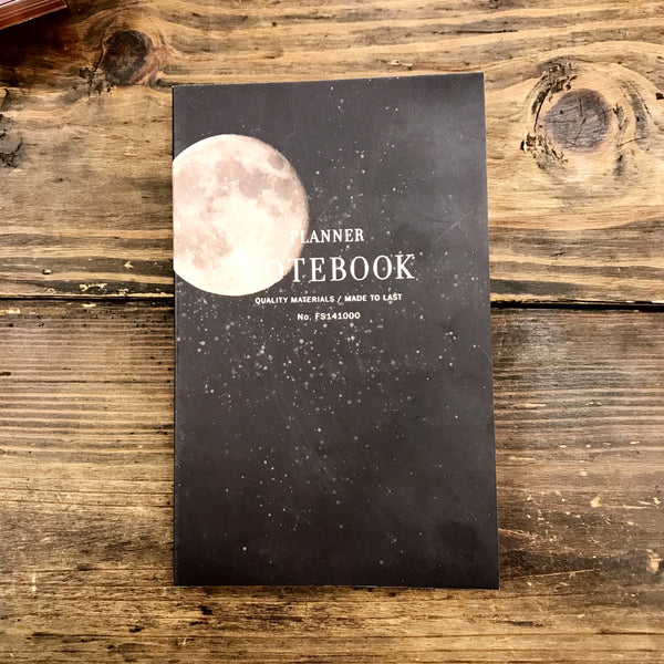 Full Moon Planner Notebook - Steel Petal Press