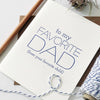 favorite dad father's day card favorite child
