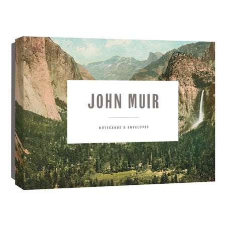 John Muir Assorted Note Cards Box Set - Steel Petal Press