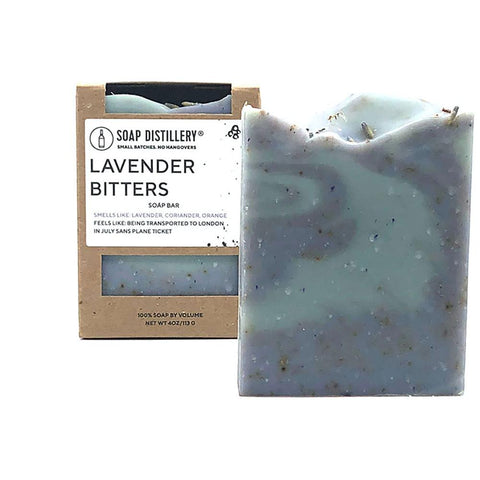 Lavender Bitters Soap Bar - Steel Petal Press