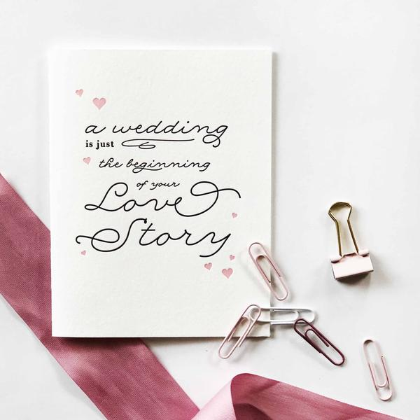 Love Story Card - Steel Petal Press