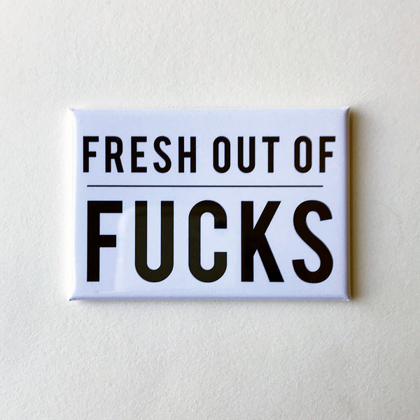 Fresh Fucks Magnet | Steel Petal Press