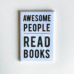 Awesome People Read Magnet