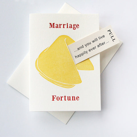 Fortune Wedding Happy Ever After - Steel Petal Press