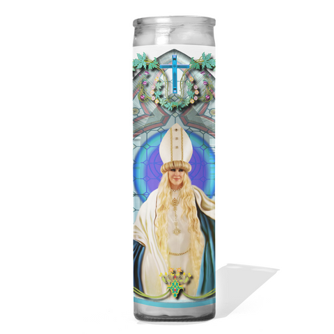 Moira Rose Schitts Creek Prayer Candle