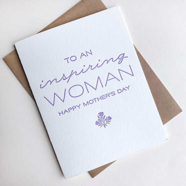 Inspiring Woman - Steel Petal Press
