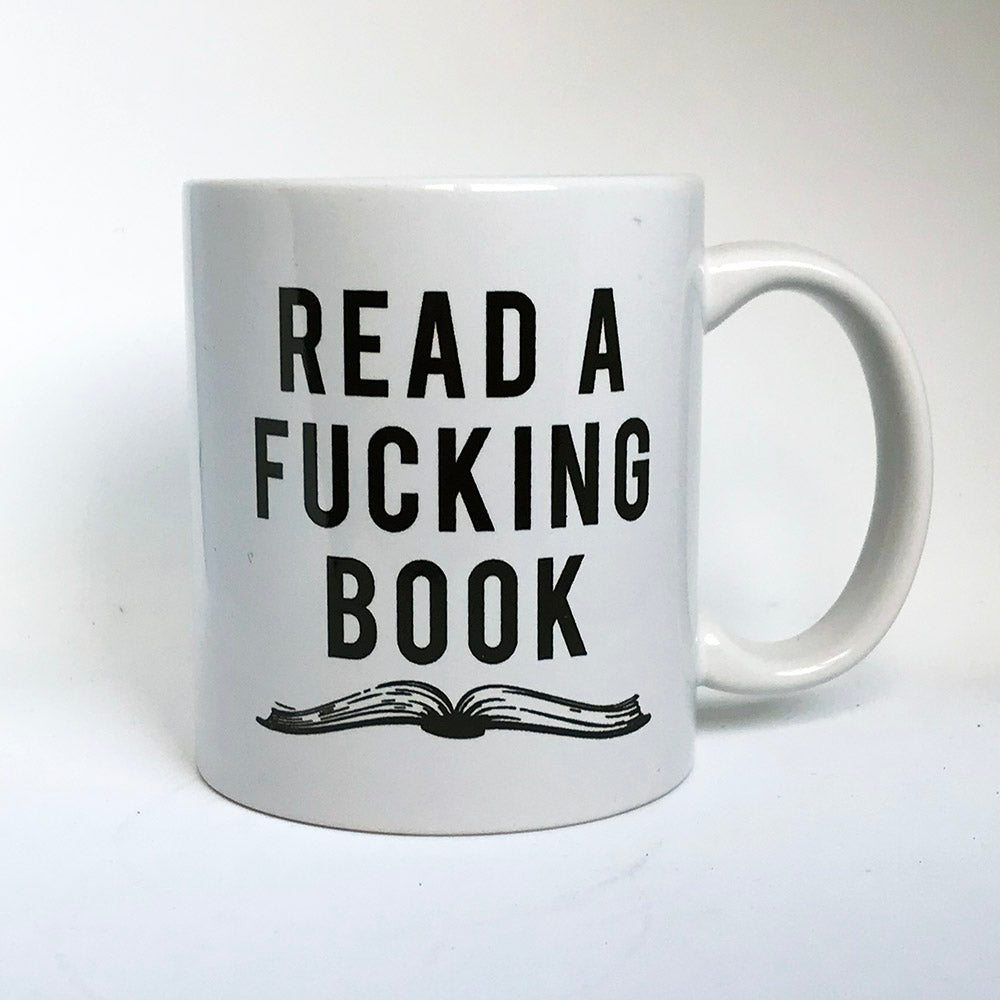 Fucking Book Mug - Steel Petal Press
