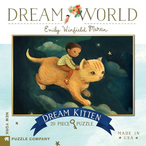 Dream Kitten Mini Puzzle - Steel Petal Press