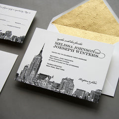 NYC Skyline Invitation