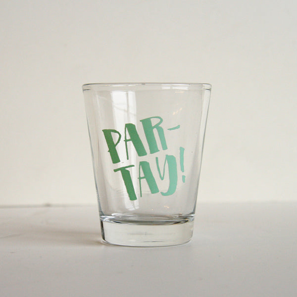 Par-Tay Shot Glass | Steel Petal Press
