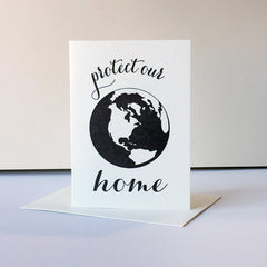 Protest Card - Protect Home