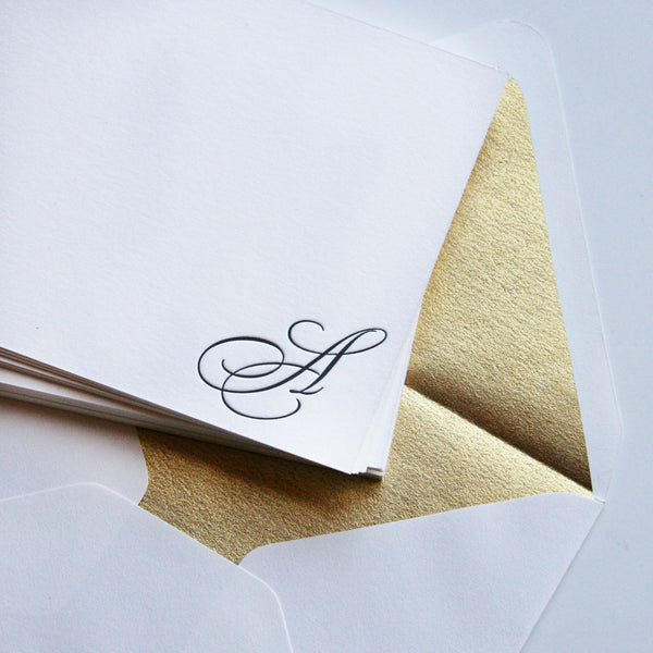 Regal Monogram | Steel Petal Press