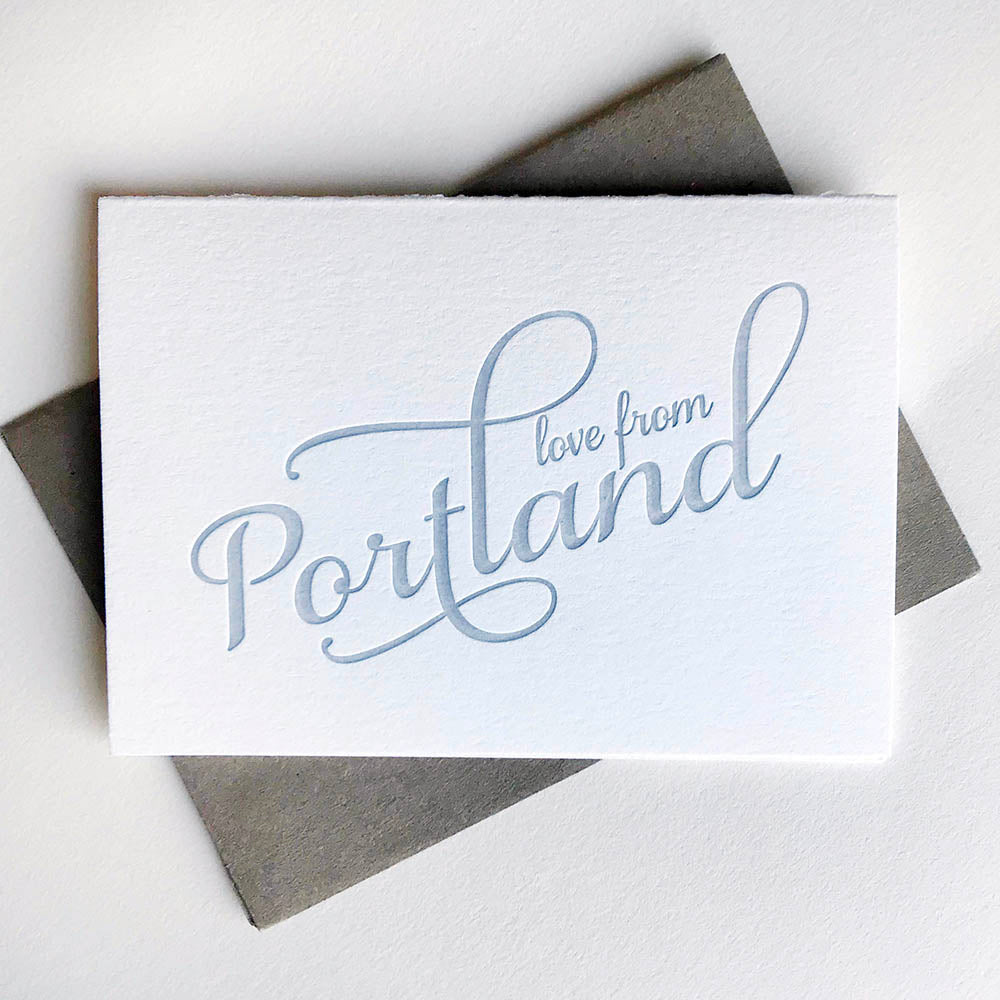 Love from Portland - Steel Petal Press
