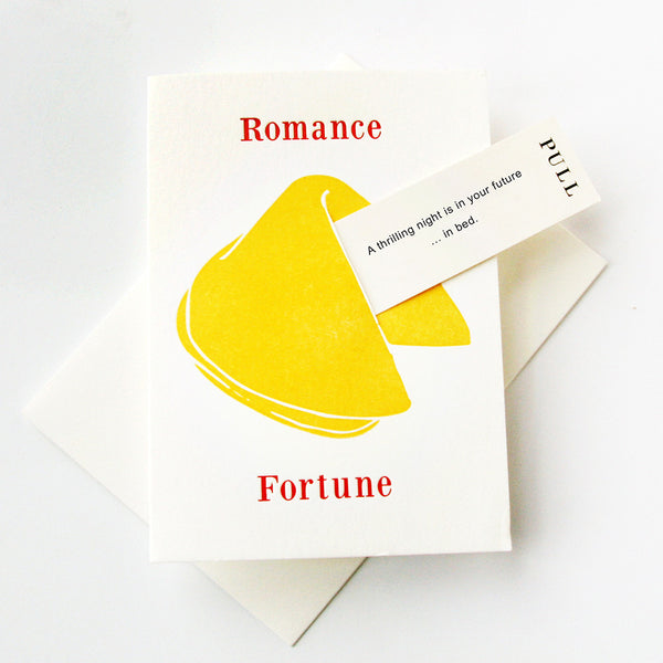 Romance In Bed - Fortune Cookie | Steel Petal Press