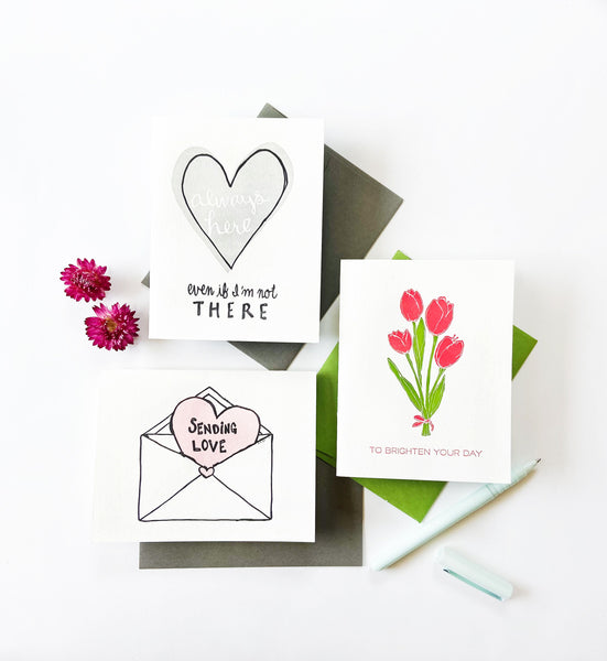 Brighten Day Tulips - Steel Petal Press