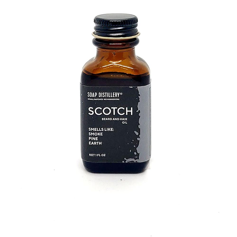 Scotch Beard And Hair Oil - Steel Petal Press