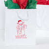 Christmas Yoda Star Wars Gift Bag