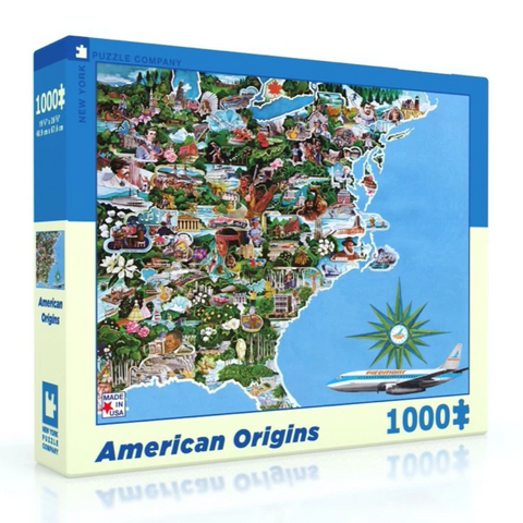 American Origins 1000 pc Jigsaw Puzzle - Steel Petal Press