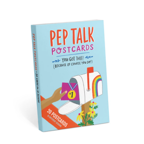 Book Of 20 Pep Talk Postcards - Steel Petal Press
