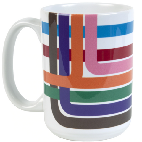 Chicago Loop Stripe Mug - Steel Petal Press