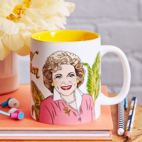 Betty White Mug - Steel Petal Press