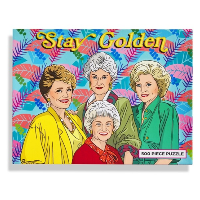 Stay Golden 500 Piece Puzzle