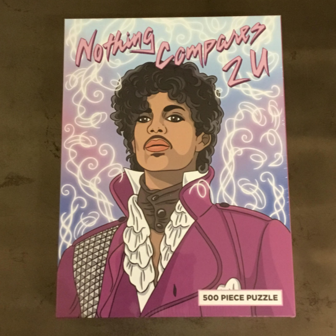 Nothing Compares To You Prince 500 Piece Puzzle