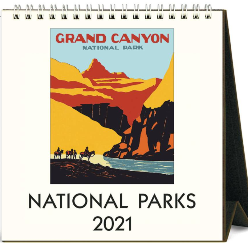 2021 Desk Calendar National Parks